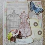 Carte «Mots Doux en cage»
