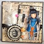 Septembre 2012 : Les cartes romantiques de la rentrée par Flo