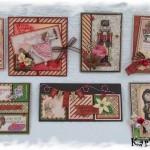 Novembre 2012 : Les cartes de Noël de Karine KBI