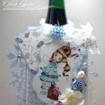 Décembre 2012 : Les cartes givrées de Céline & Nathalie
