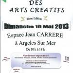 Grande Fête des Arts Créatifs – Argelès sur Mer (66) – 19 mai 2013