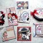 Mai 2013 : Les cartes «Lovely Tilda» de Véro Magnolia