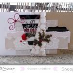 Novembre 2013 : Les cartes «Magie de Noël» de Snoopie