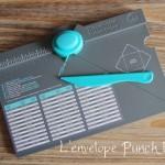 Créez vos enveloppes personnalisées avec l'»Envelope Punch Board»