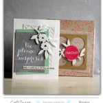 Binka : une carte porte photo & sa boite cadeau