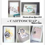Version Scrap Lyon 2014 : aperçu des Make & Take !
