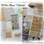 Janvier 2015 : Mini-Album «Celebrate» par miniMlescrap