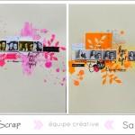 Sandydub : Une double page colorée