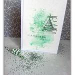Binka : 3 cartes «Effet aquarelle»