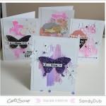 Sandy : 4 cartes, 4 textures