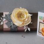 Boîte & Carte «Dites-le avec des fleurs»