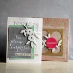 Carte porte photo & sa boite cadeau