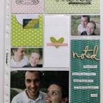 Page Project Life avec la Fuse