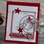 Carte de Noël en 5 minutes «Rejoice»