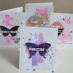 4 cartes, 4 textures