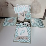 Une carte boîte pop up