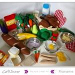 Rianame : Calendrier de l'Avent & Dinette en feutrine