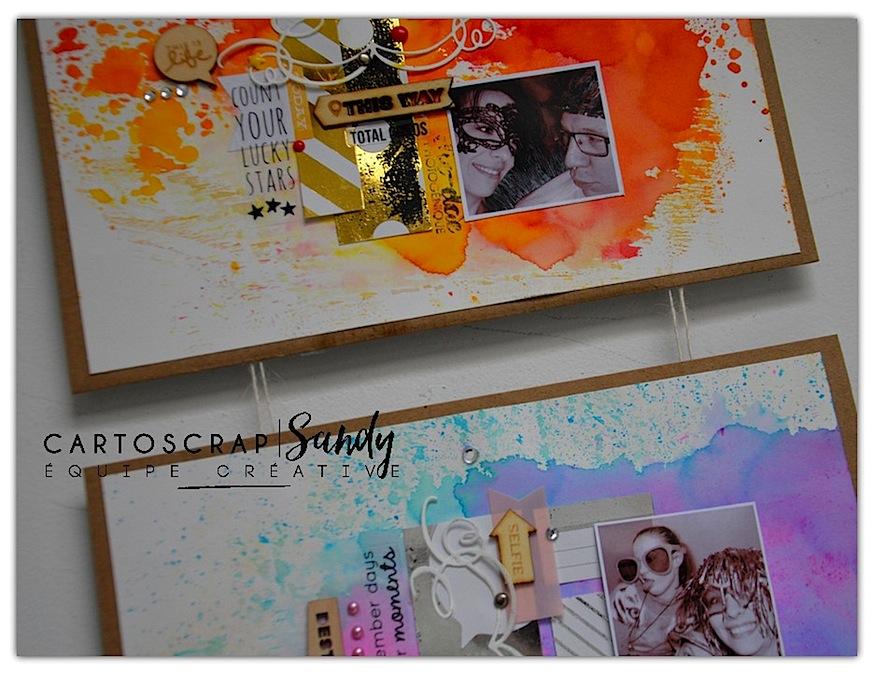 tript Sandy carton detail