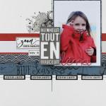 Scrapcat : Pas à Pas – Page «Léna»
