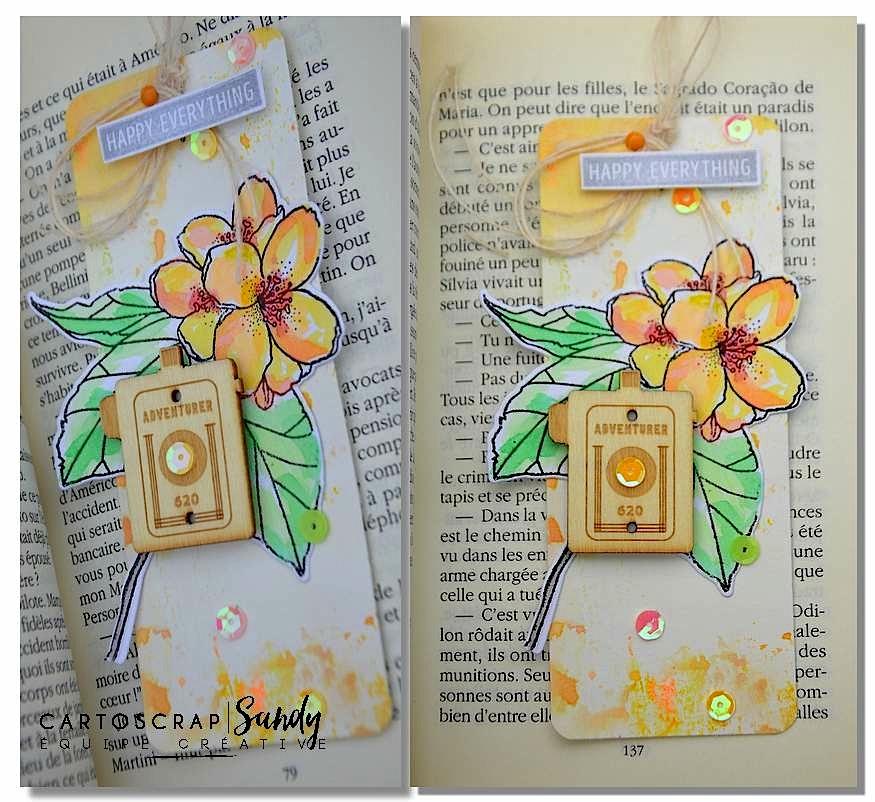 carte fleurSandyDub