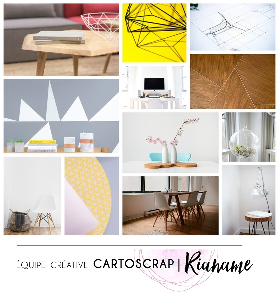 challenge d 39 avril esprit scandinave cartoscrap. Black Bedroom Furniture Sets. Home Design Ideas