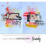 SandyDub – Une double page