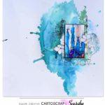 Une page bleue par Sandy