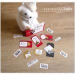 Snoopie : Carte & étiquettes