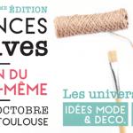 Salon des Loisirs Créatifs de Toulouse – 17 au 20 octobre 2019