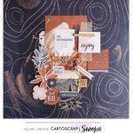 Snoopie : boîte décorée & page