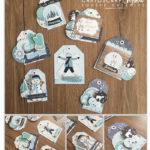 Calendrier de l'Avent – Jour 21 : Etiquettes cadeaux par Snoopie