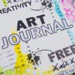 Pas à pas «page d'art journal » par Christelle